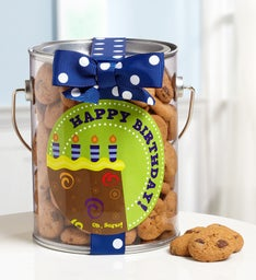 Its Party Time Birthday Cookies in a Can
