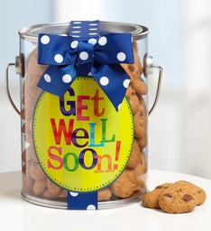 Get Well Soon Chocolate Chip Cookies in a Can