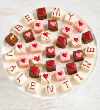 Be My Valentine Petits Fours