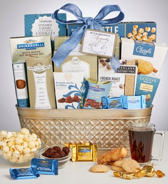 Peace Prayers  Blessings Sympathy Gift Basket