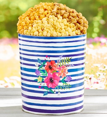 The Popcorn Factory Colors of Spring 3-Flavor Tin