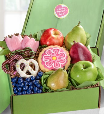 Happy Mothers Day Fruit  Sweets Gift Box