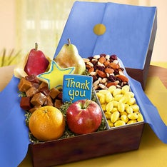 Thank You Fresh Fruit  Sweets Gift Box
