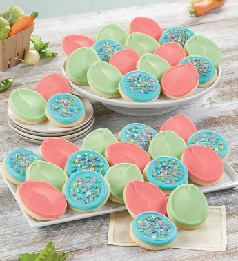 Buttercream Frosted Easter Egg Cut Outs