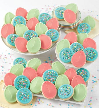 Buttercream Frosted Easter Cookie Box