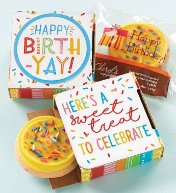 Happy Birth-Yay Cookie Card Cases
