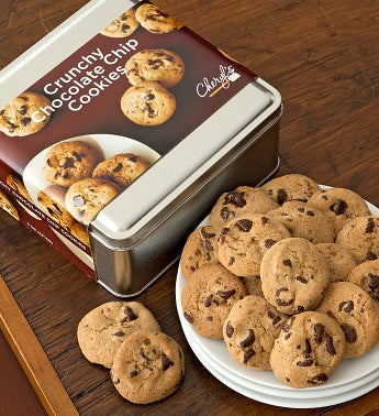 Cheryls Chocolate Chip Cookie Gift Tin