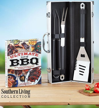 Southern Living Personalized Grilling Set