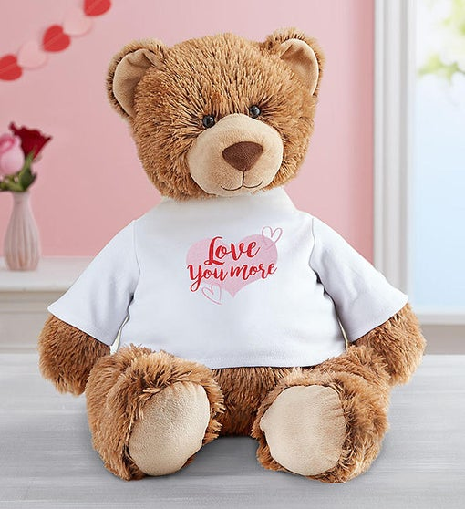 "Personalized Tommy Teddy™ ""Hugs and Kisses"""