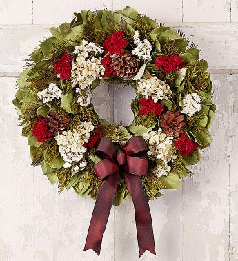 Preserved Victorian Holiday Wreath-18