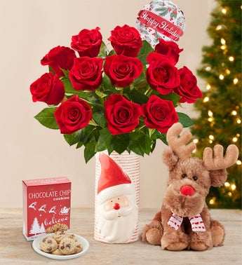 Merry Red Roses