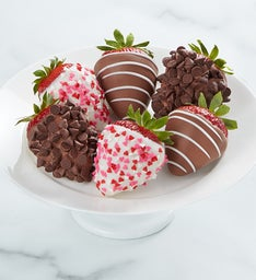 Gourmet Valentines Dipped Strawberries