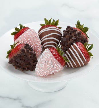 Gourmet Mothers Day Dipped Strawberries
