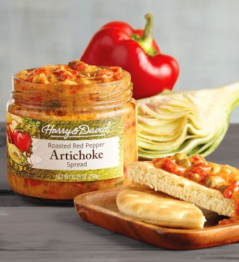 Roasted Red Pepper  Artichoke Spread