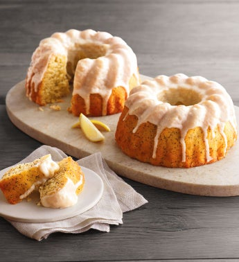 Wolferman39s174 Lemon Poppyseed Bundt Cake Duo