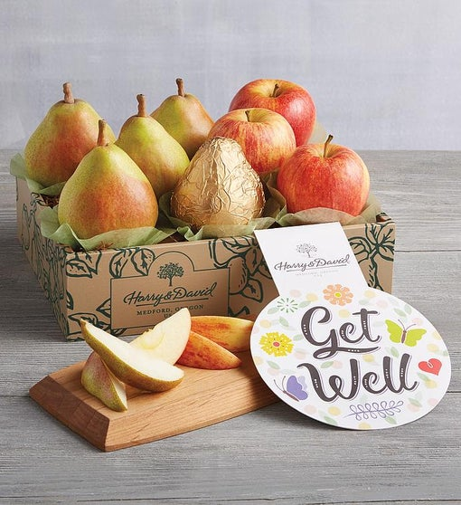 Get Well Pears and Apples