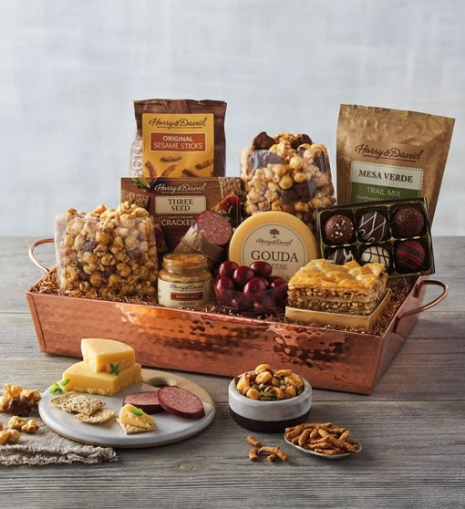 Gourmet Copper Tray Gift