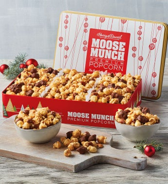 Moose Munch174 Premium Popcorn Holiday Trio