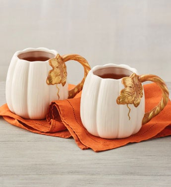 Pumpkin Mug Duo