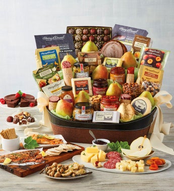 Gourmet Entertainer39s Gift Basket