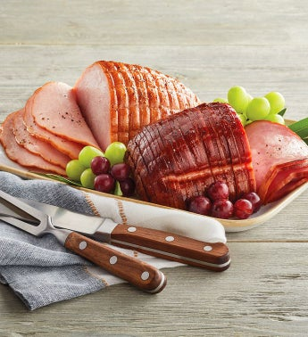 Sliced Ham and Turkey Sampler