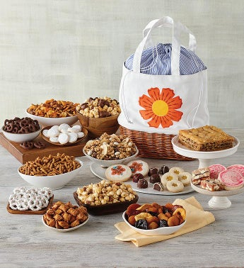 Mother39s Day Floral Gift Tote