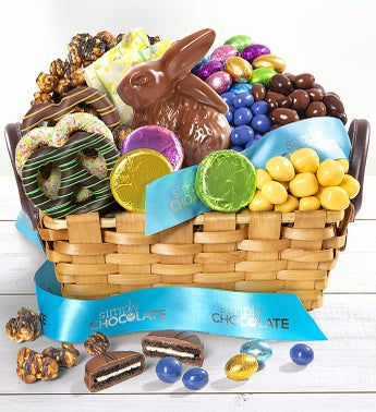 Simply Chocolate Easter Celebration Gift Basket