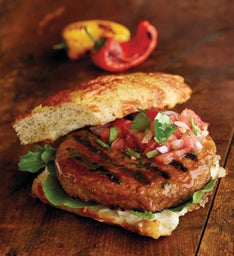 Chipotle Pork Burgers - Twelve 5.3-Ounce