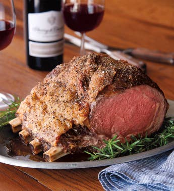 Four-Bone Prime Rib Roast