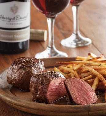 Filet of Top Sirloin - Two 6-Ounce USDA Prime with Wine