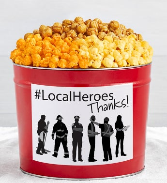 Tins With Pop Local Heroes Thank You