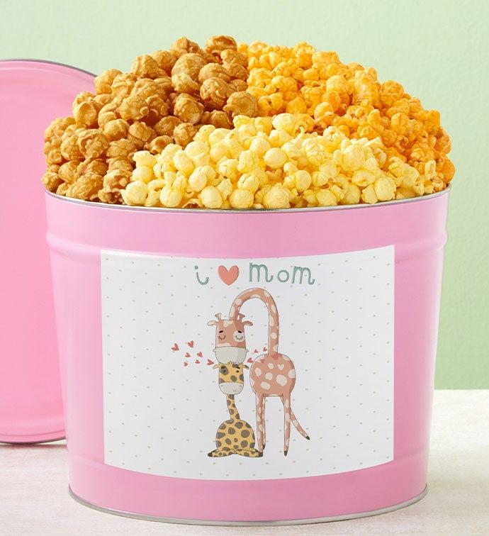 Tins With Pop™ I Love Mom Giraffe