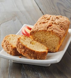 Apple Streusel Loaf Cake